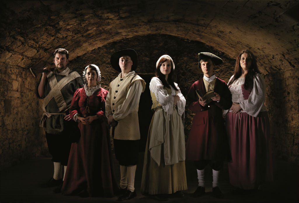 Real Mary King's Close Cast Of Characters | Courtesy Of Mary King's Close