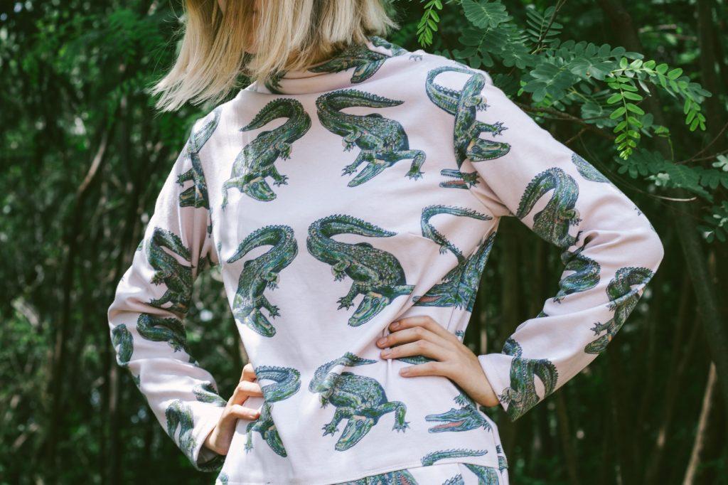 Alligator Omen dress