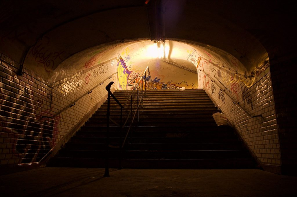 Saint-Martin ghost station │© jd / Wikimedia Commons