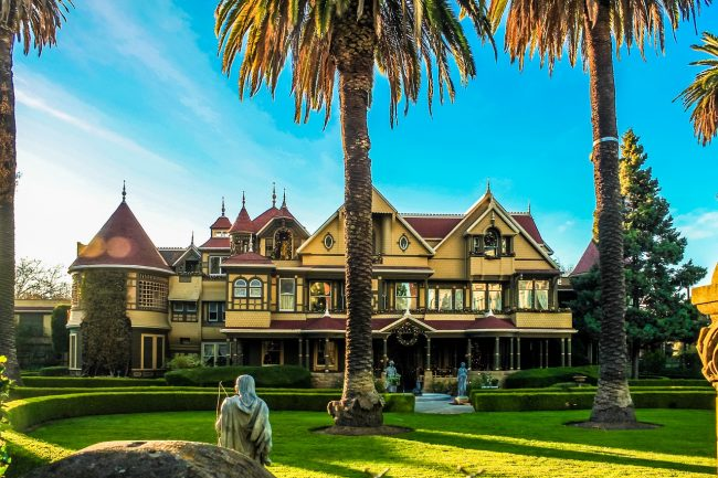 A Brief History Of The Winchester Mystery House In San