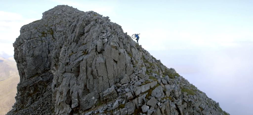 Still From Danny MacAskill's 'The Ridge' On The Isle Of Skye