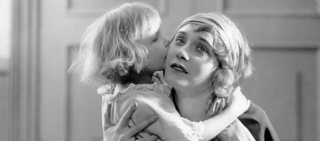 """Elsie Ferguson in the 1918 """"A Doll's House"""" film directed by Maurice Tourneur 