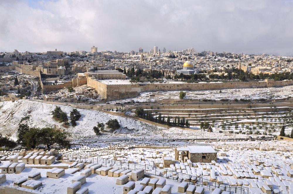 Jerusalem Old City under snow, Israel | © Boris Diakovsky/Shutterstock