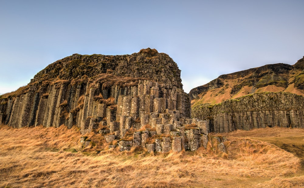 Dverghamrar sea eroded basaltic columns, South Iceland | © Felix Lipov/Shutterstock
