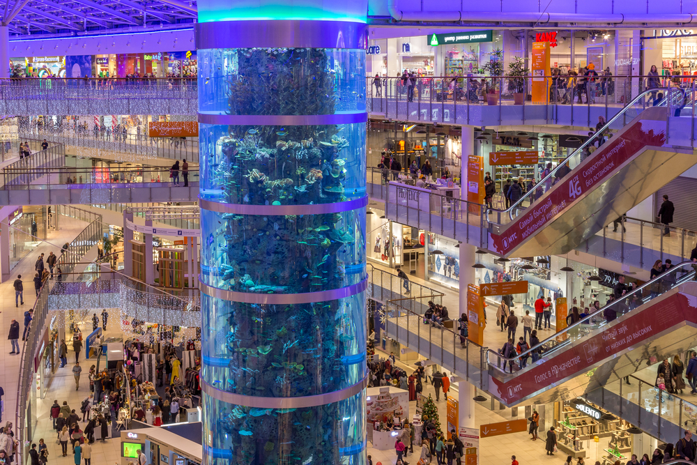 The Best Shopping Malls In Moscow