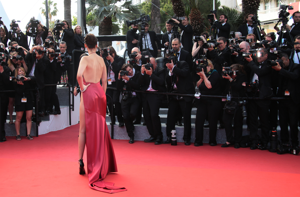 "The 2016 Cannes premiere of Woody Allen's ""Café Society"" 