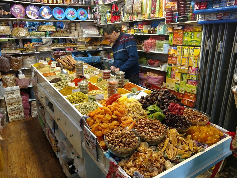 Arabic sweets being sold in Jerusalem's Old City | © Oleg Golovnev/Shutterstock
