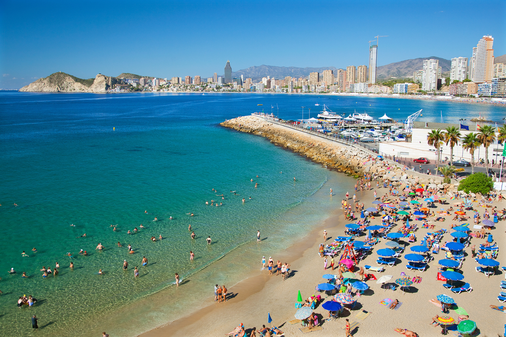 Benidorm Beach, Spain | © Billy Stock / Shutterstock