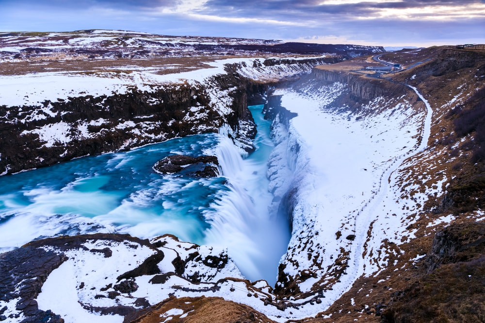 Gullfoss waterfall in Winter, Iceland | © Ikuni/Shutterstock