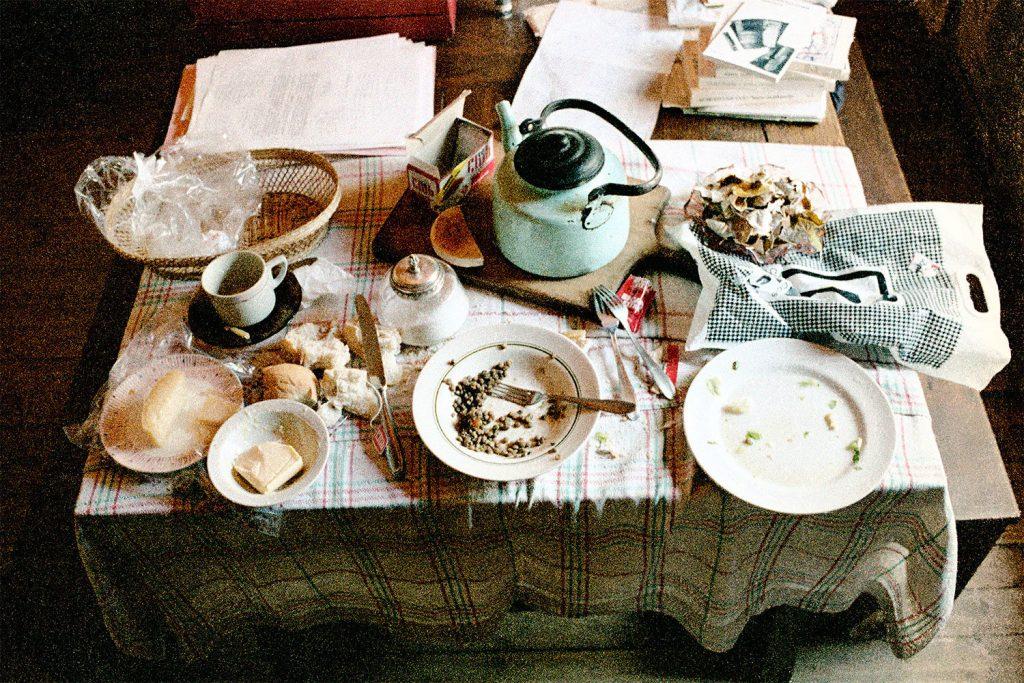 Claudio Bertoni, Simply breakfast in the dining room I, 1969   © The artist