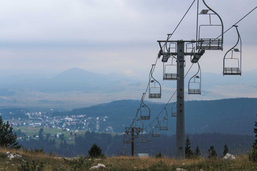 Gavin Greene   Ski lift in Savin Kuk, Durmitor National Park