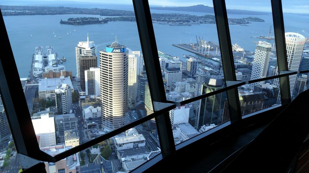 A Brief History Of Auckland S Sky Tower