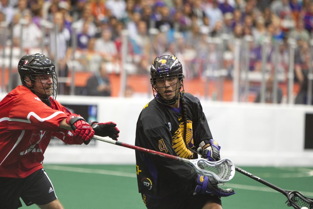 The Iroquois Nationals finished runner-up at the 015 FIL World Indoor Lacrosse Championship hosted on native lands. | © Spirit Game
