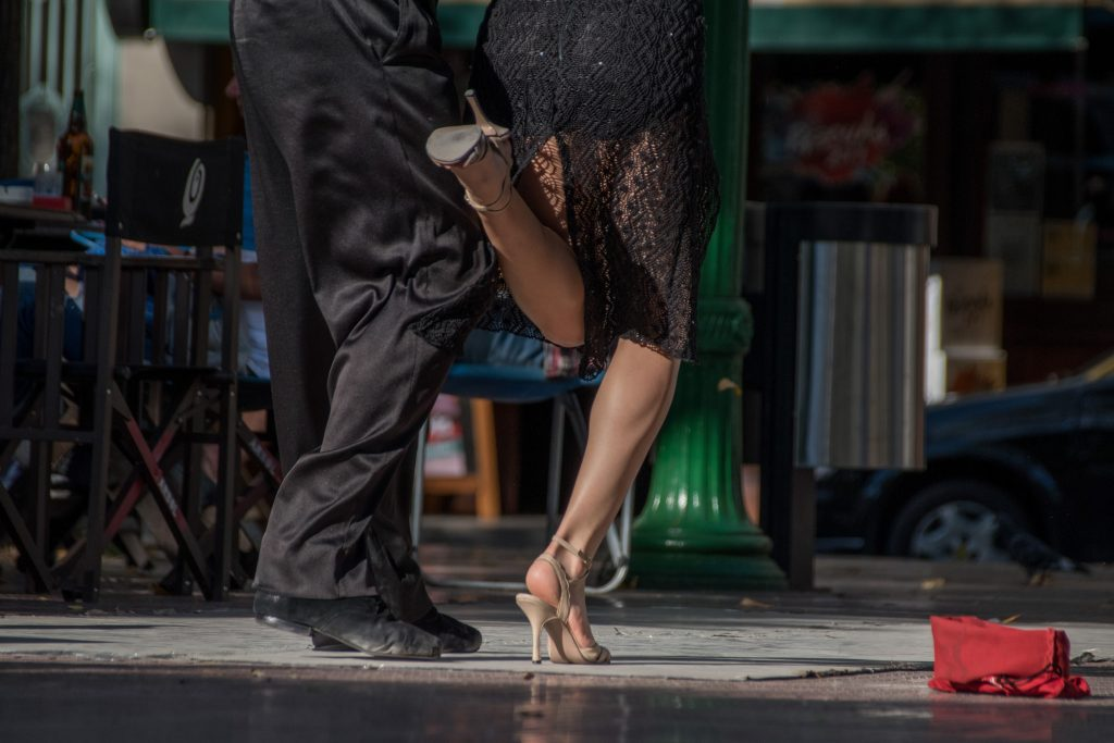 Tango dancers in Buenos Aires, Argentina | © Ralf Steinberger / Flickr
