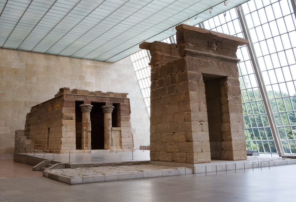 Temple of Dendur | Courtesy of Metropolitan Museum of Art