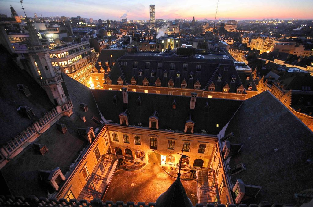 The 15th-century City Hall on the Grand Place   © E. Danhier/visit.brussels