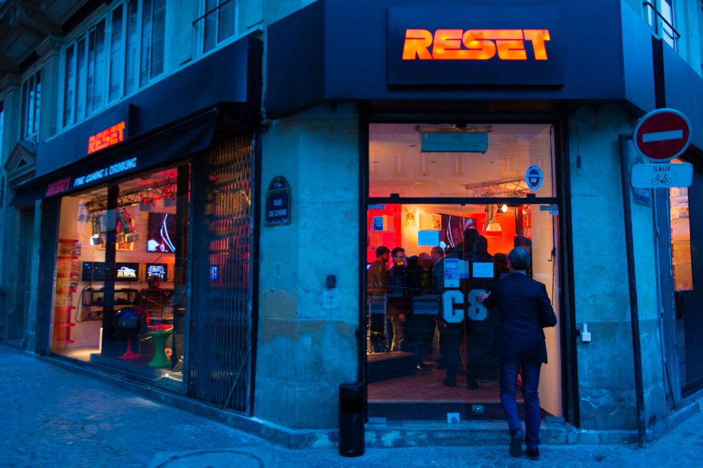 The exterior of Reset │© AFJV, Courtesy of Reset