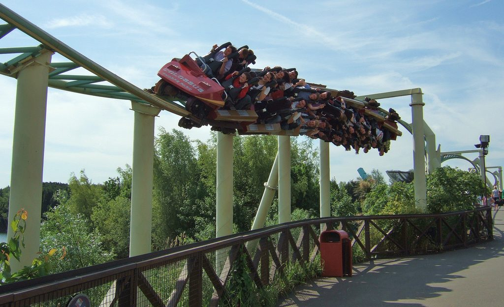 Colossus at Thorpe Park, Surrey | © Henry Burrows/Flickr