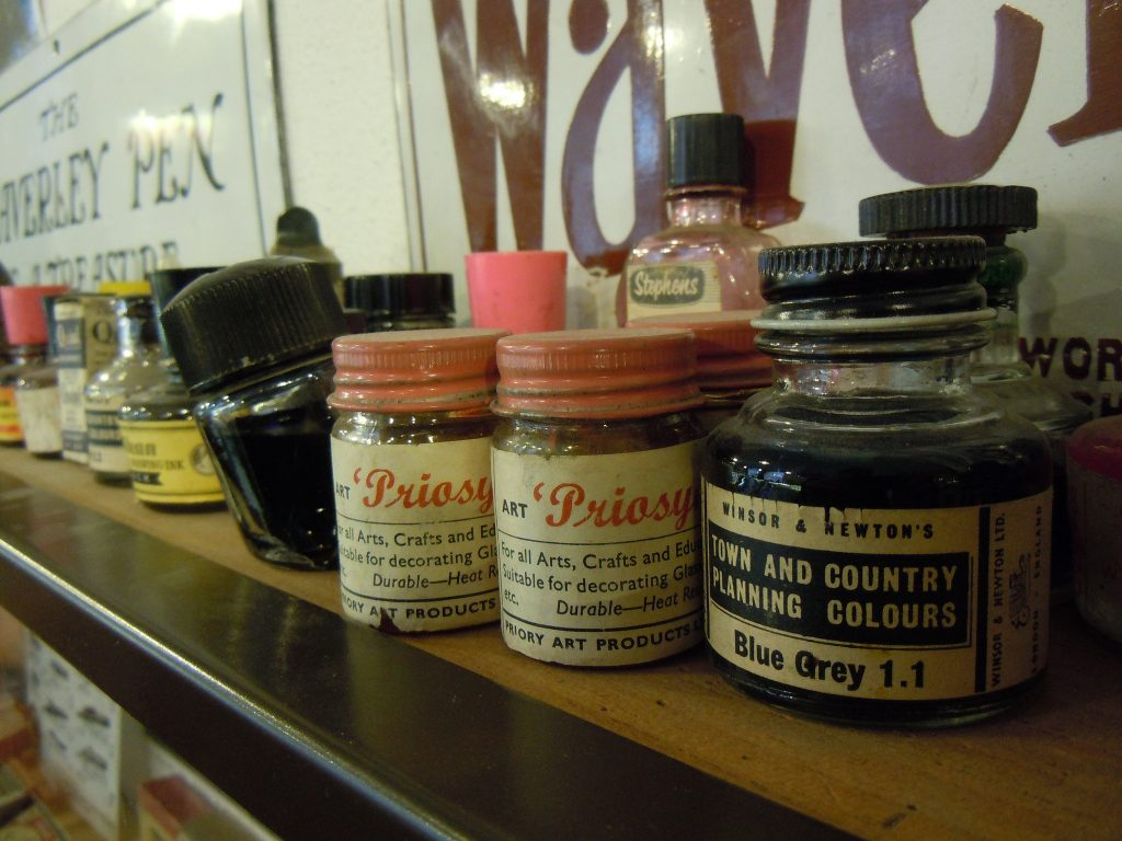 Town planning ink, Pen Museum | © Kevan/Flickr