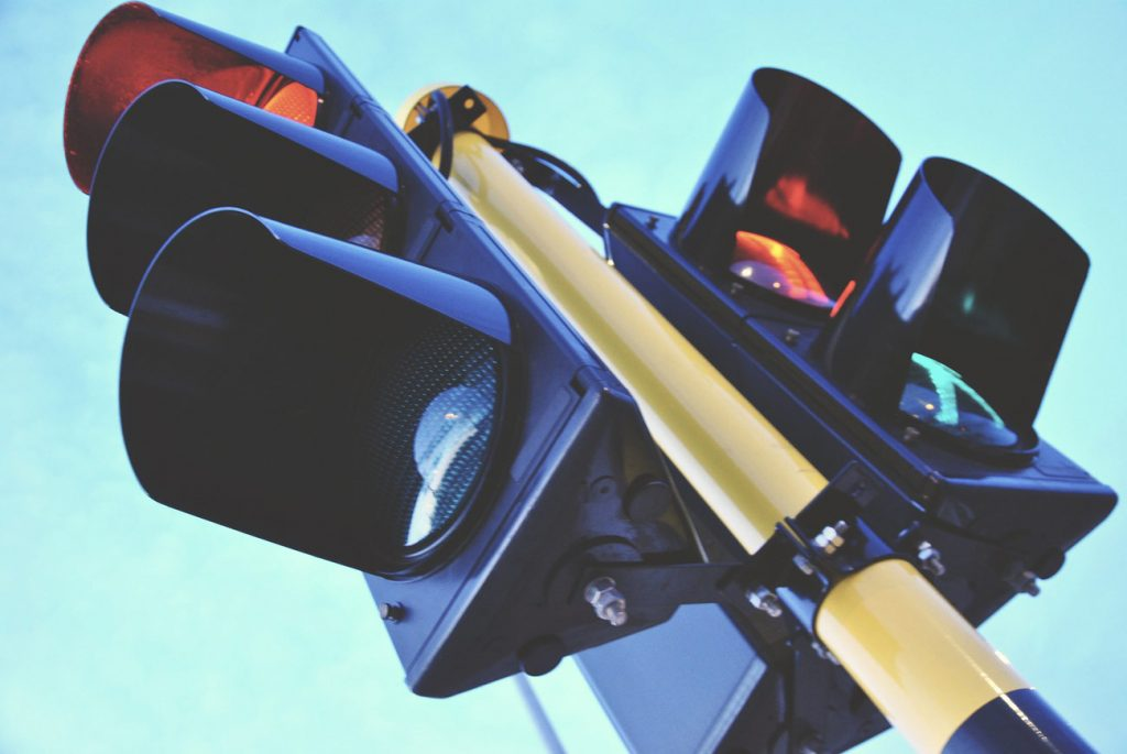 Traffic light's are called robots in South Africa