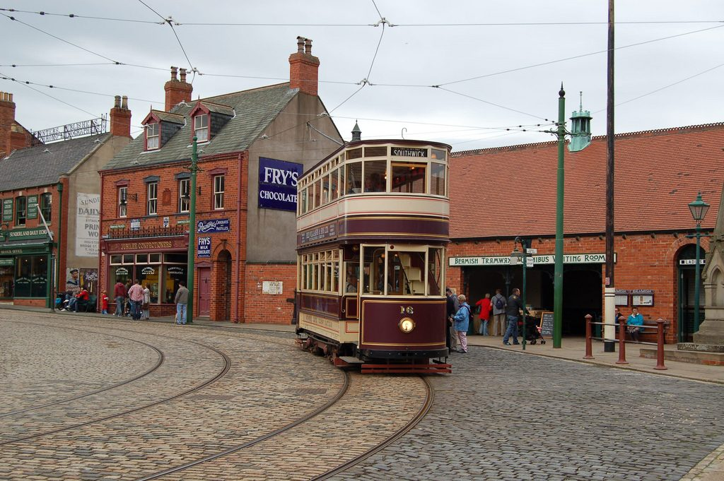 Tram at the Beamish Museum