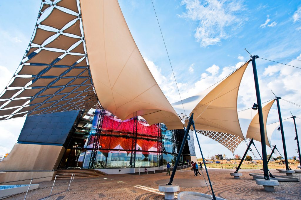 The Soweto Theatre exterior