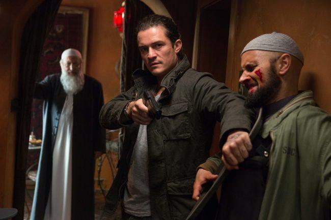 Orlando Bloom in 'Unlocked'   © Lionsgate UK