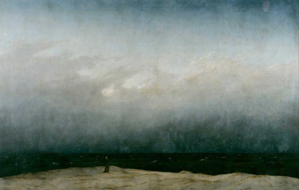Der Mönch am Meer | Caspar David Friedrich / Wikimedia Commons