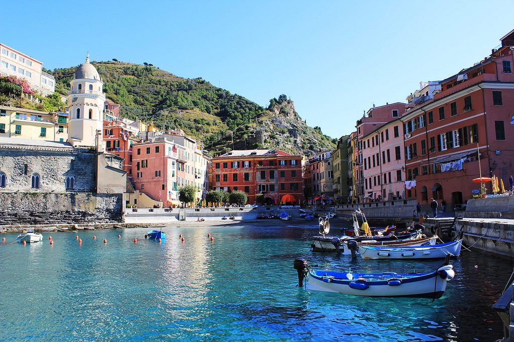 Vibrant Vernazza©Kelly Hunter:Flickr