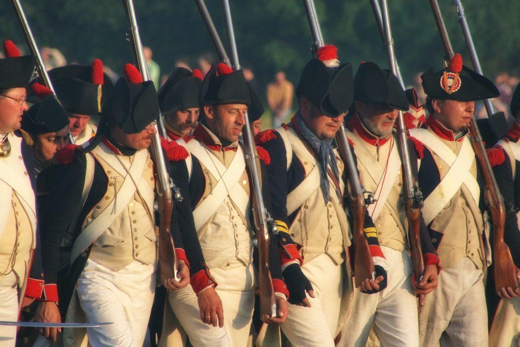Waterloo reenactors | © public domain / Pixabay
