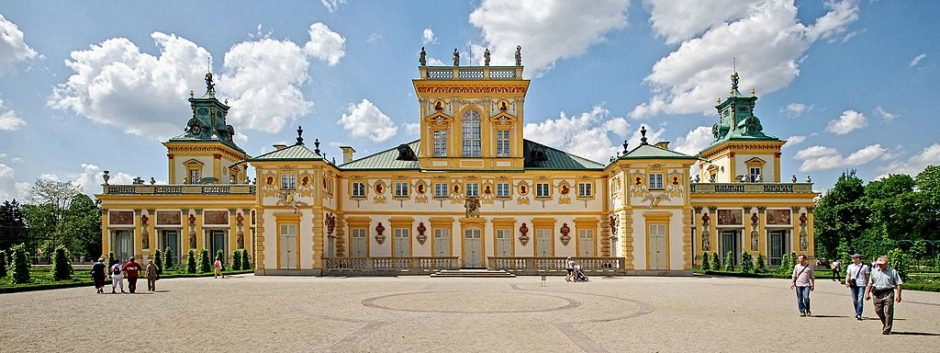 Exterior of the Wilanów Palace