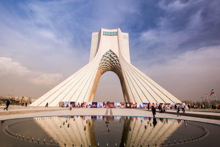 Azadi Tower is the symbol of Tehran | © sunriseOdyssey / Flickr