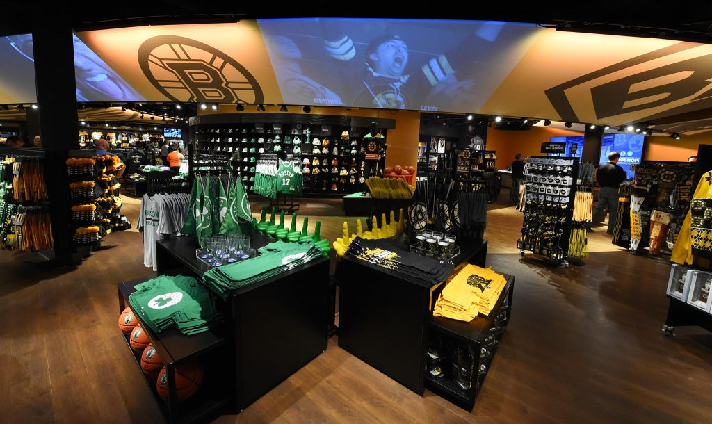 TD Garden Pro Shop | © Boston Pro Shop