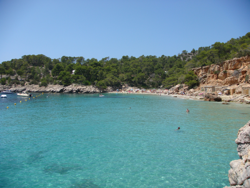 The clear waters of Ibiza © Philip Larson