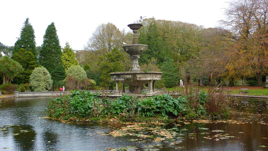 Fountain in Fitzgerald Park | © Andrew Bowden/WikiCommons