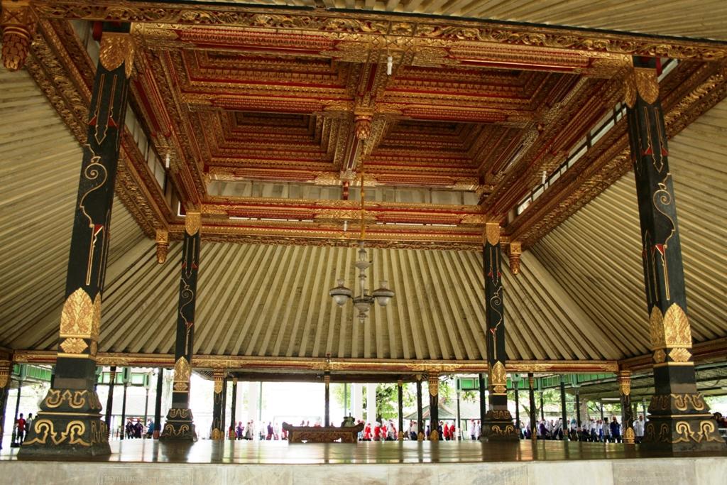 Interior Istana Yogyakarta