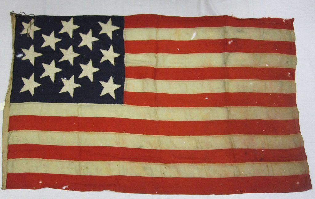 12 cool facts about the united states flag original version of the flag with 13 stars and 13 stripes naval history heritage command flickr publicscrutiny Choice Image