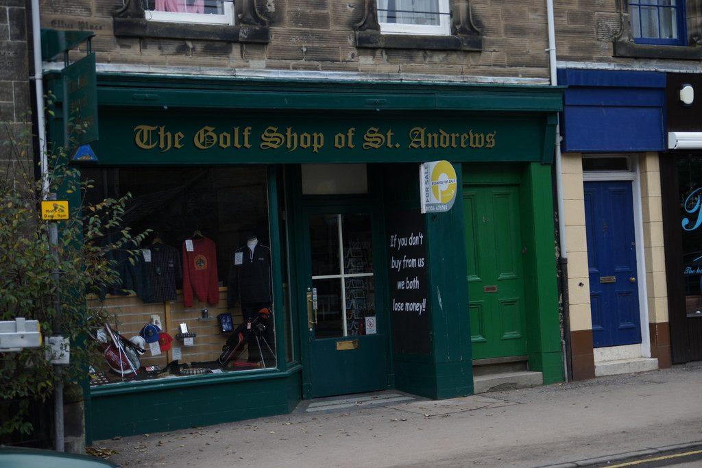 The Golf Shop Of St Andrews | © Daniel Farrell/Flickr