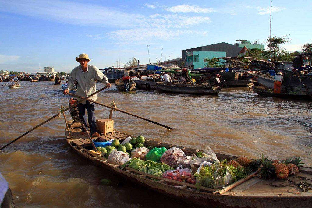 Cai Rang floating market   © guido da rozze / Flickr