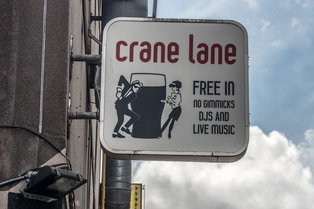 Crane Lane sign | © William Murphy/Flickr