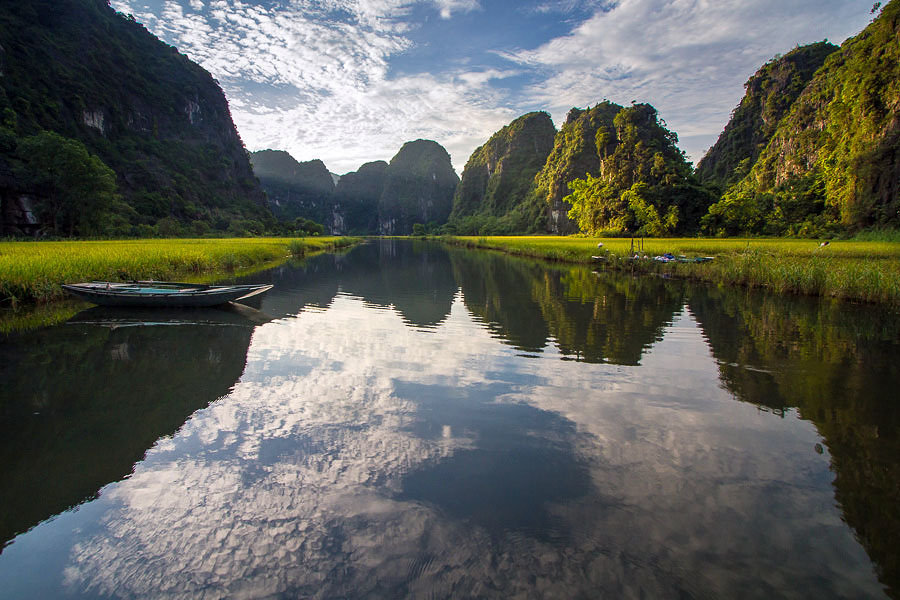Tam Coc Rice Valley in Ninh Binh | © Hoang Giang Hai / Flickr