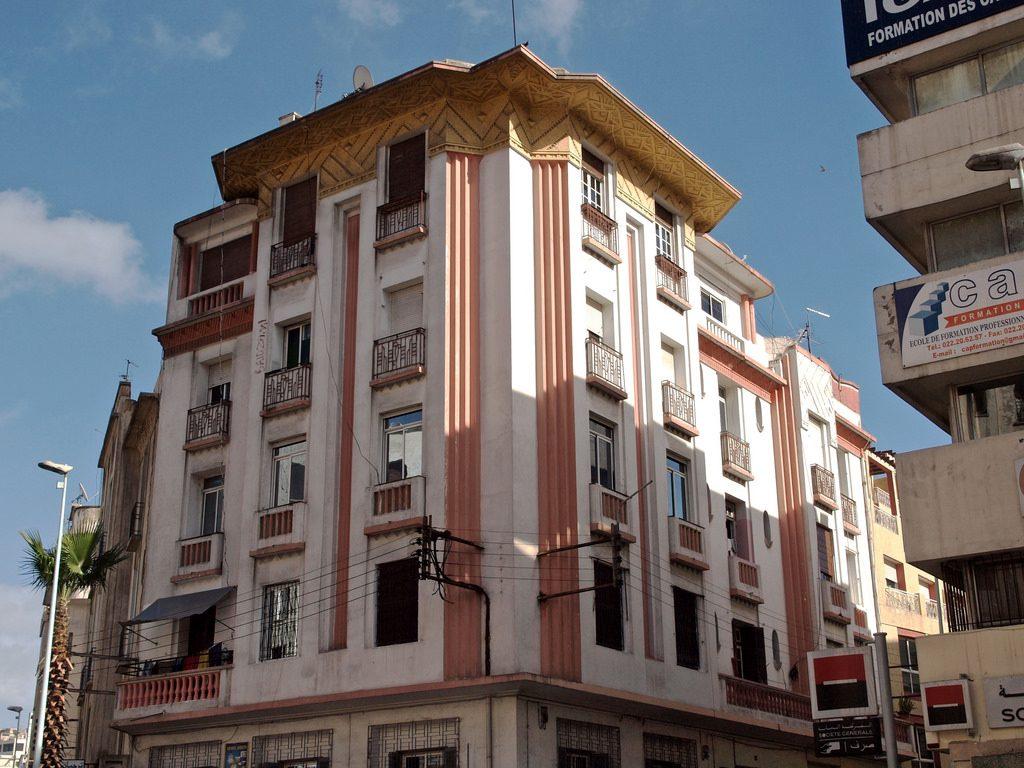 Art Deco architecture in Casablanca