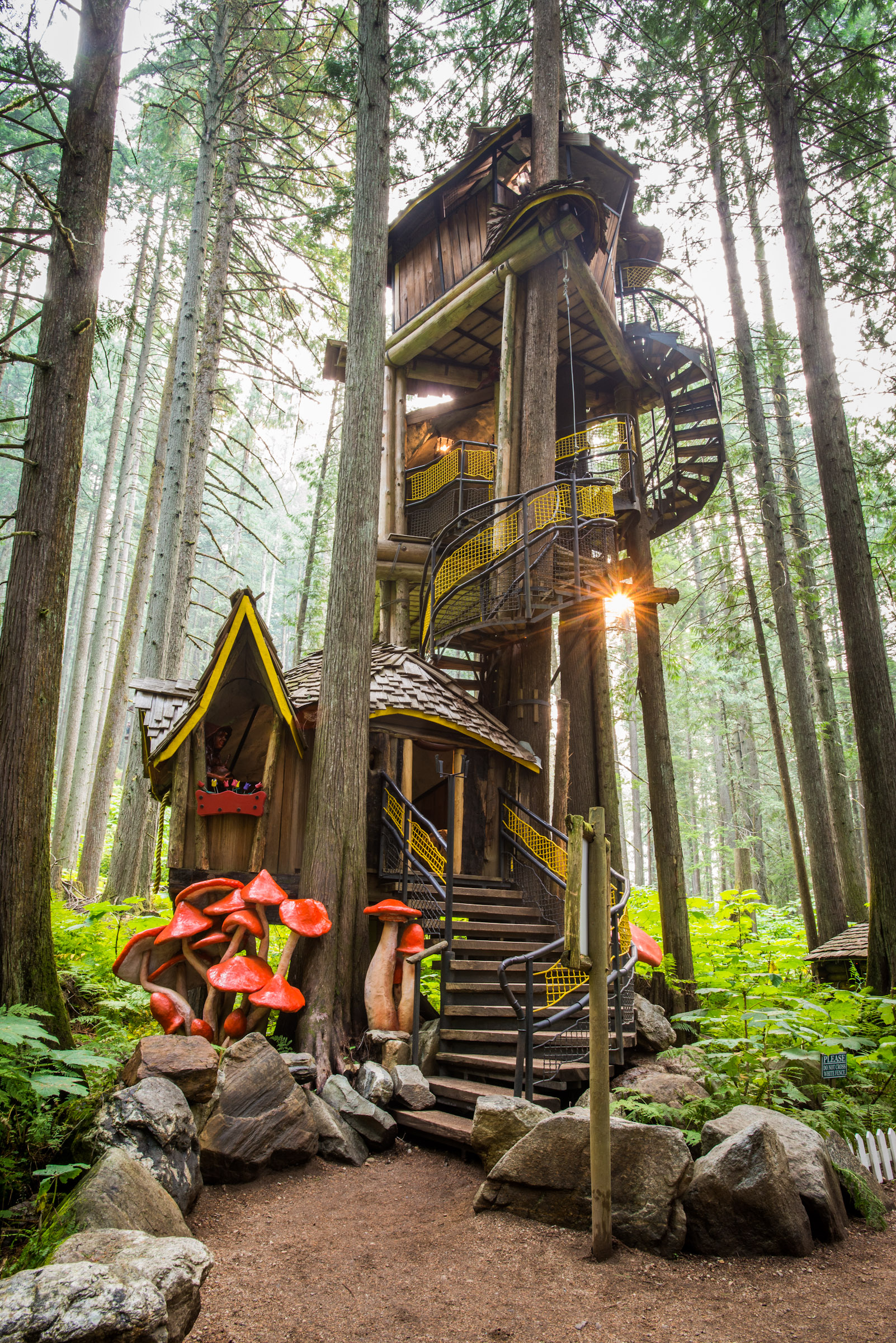 Welcome To The Enchanted Forest Canada S Fairytale Escape