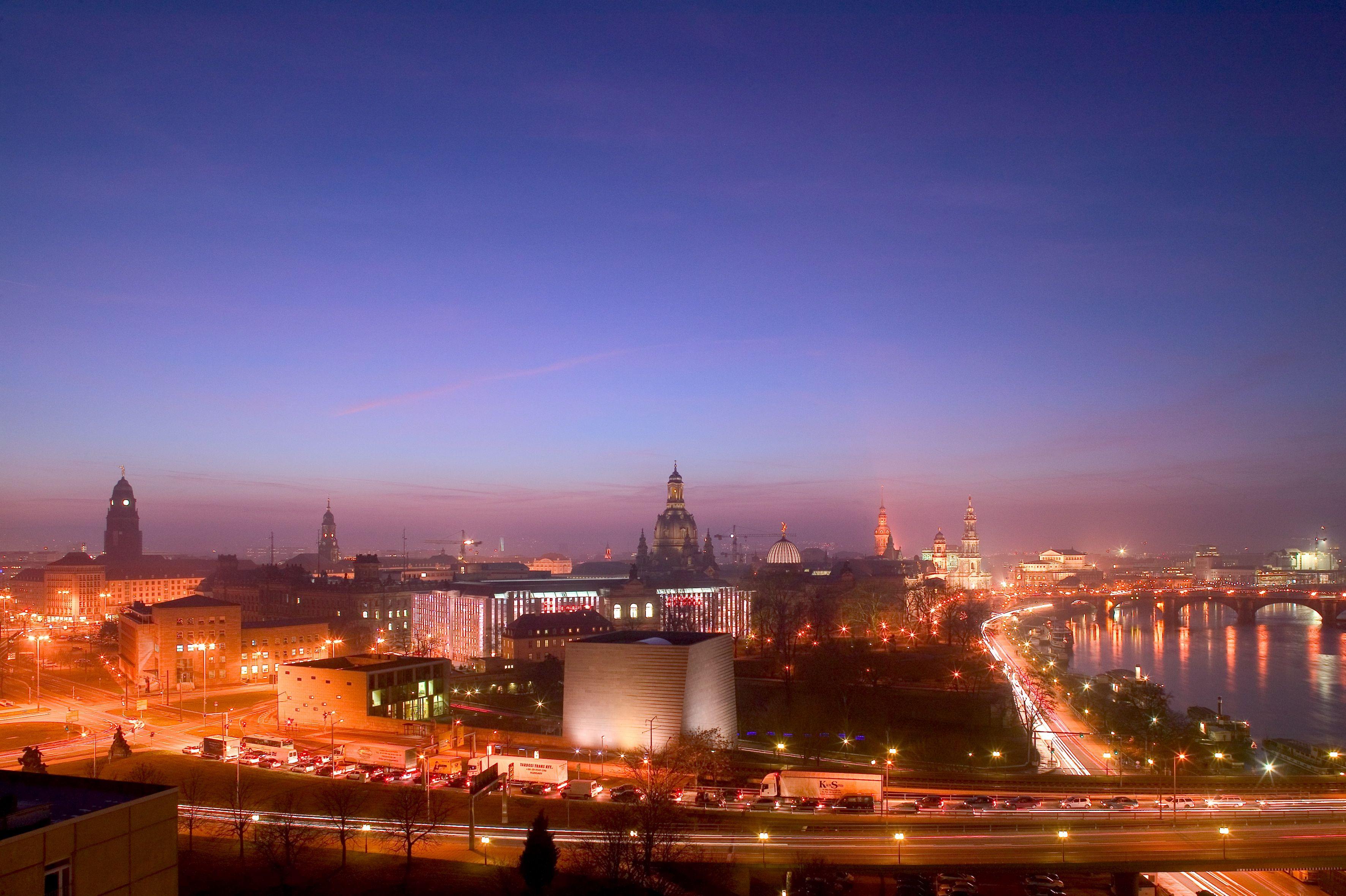 Gewaltig Skyline Dresden Galerie Von