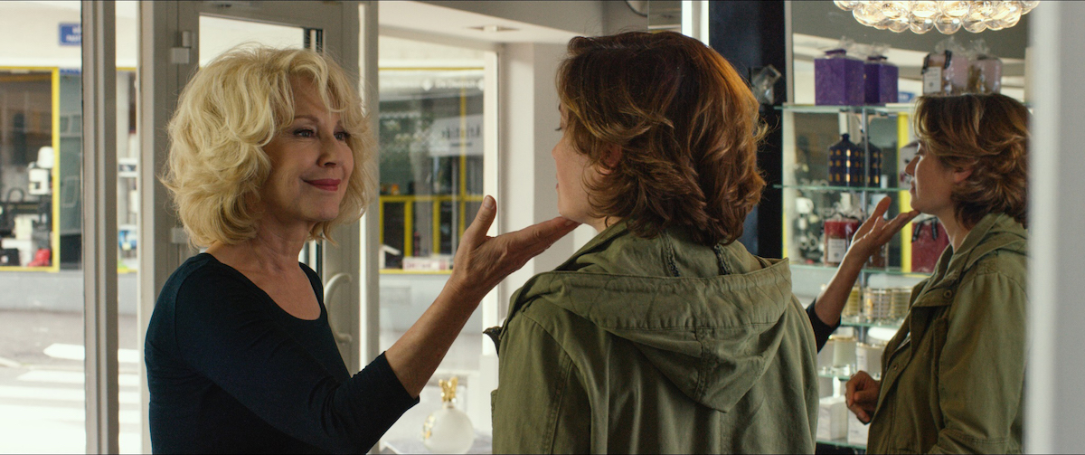 "Nathalie Baye (left) and Devos in ""Moka,"" (2016) | @ Film Movement"