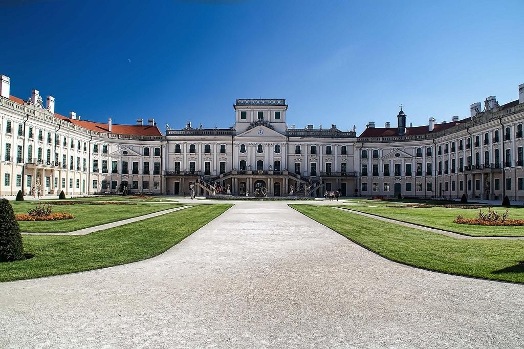 Esterháza palace in Hungary