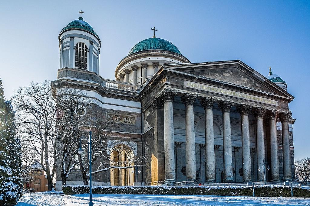 Esztergom Basilica in Hungary