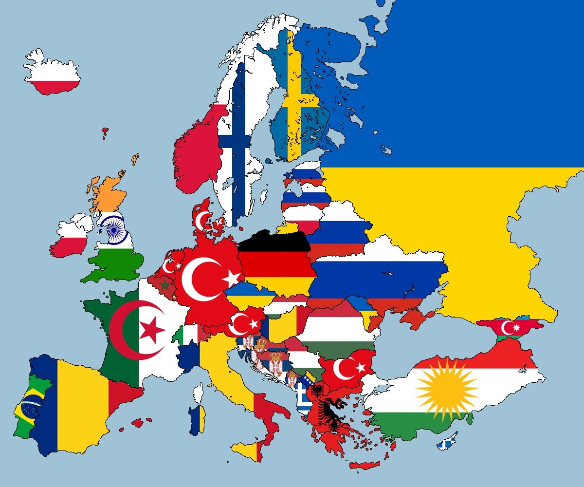 This Map Shows The Second Largest Nationalities in Every ...
