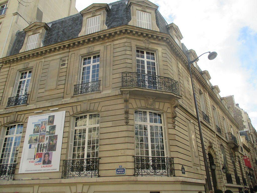 Yves Saint Laurent building in Paris