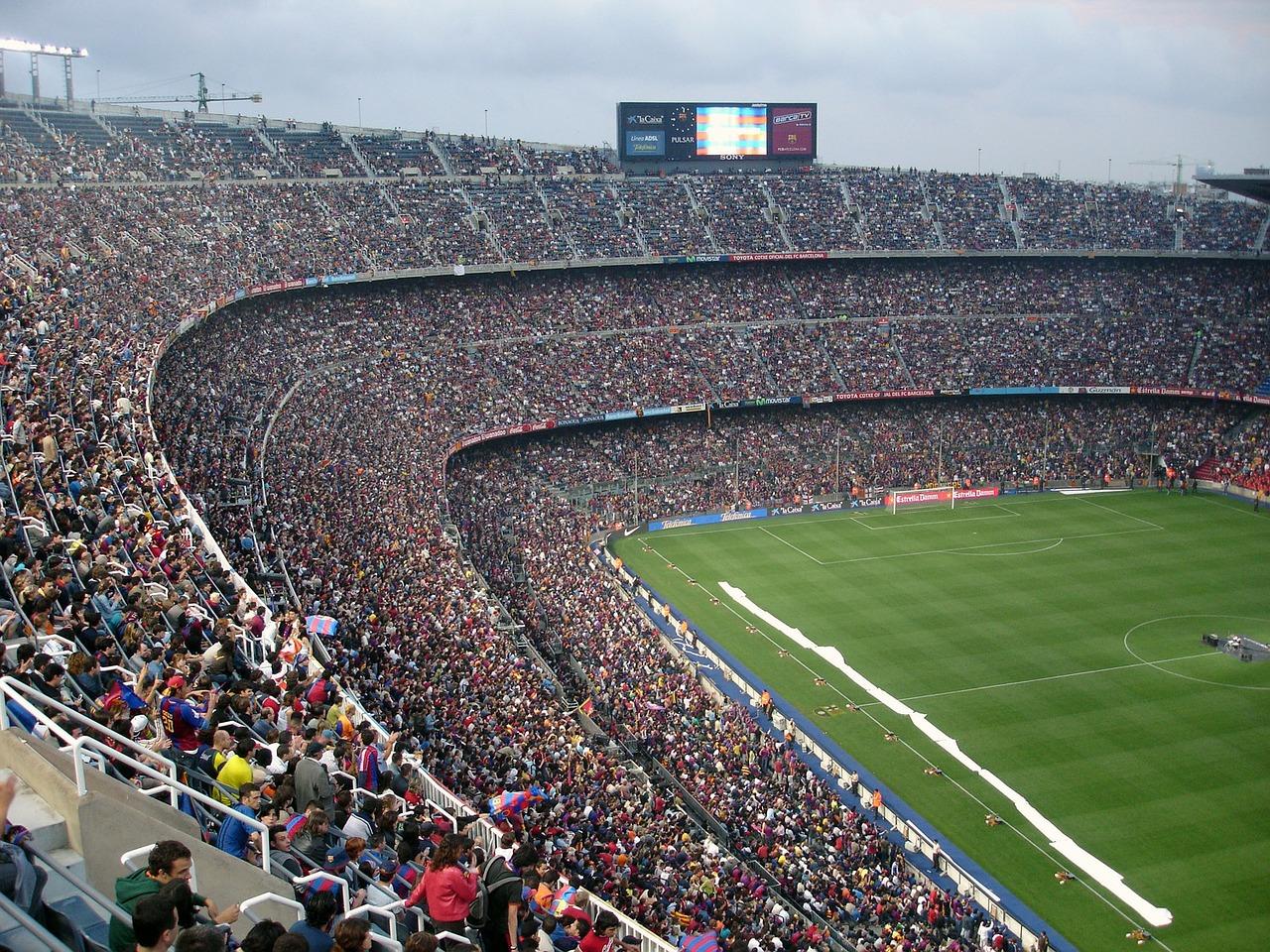 The Camp Nou CC0 Pixabay